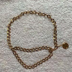 Vintage Chanel chain belt authentic